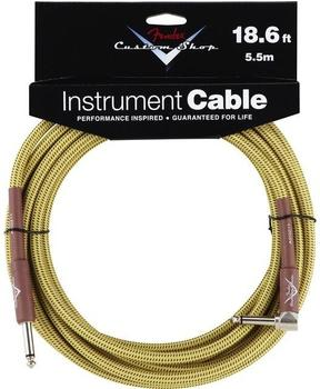 Fender Custom Shop Angle Cable TW5,5m Instrumentenkabel
