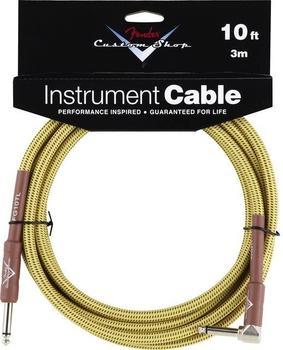 Fender Custom Shop Angle Cable TW 3m Instrumentenkabel