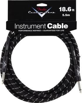 Fender Custom Shop Cable BKTW 5,5m Instrumentenkabel