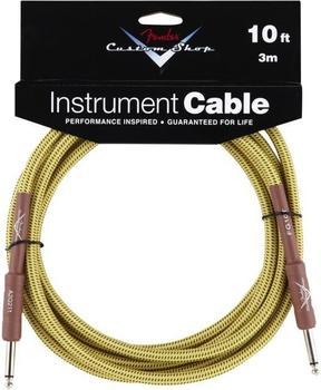 Fender Custom Shop Cable Tweed 3m Instrumentenkabel