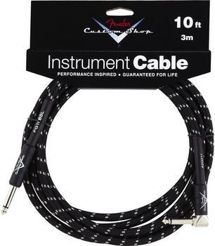Fender Custom Shop Angle Cable BT 3m Instrumentenkabel