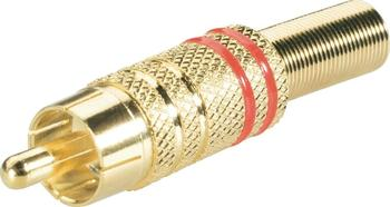 BKL Electronic 0101006 High End Cinch-Stecker 6mm