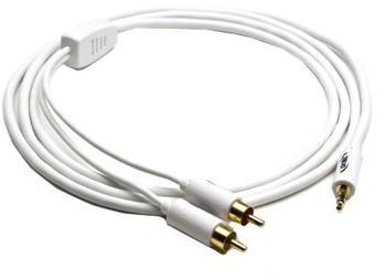 G&BL ICW35RCA2 Audio Verbindungskabel für iPod® /MP3 (1,8m)