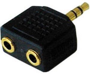 Lindy 35530 Stereo 3,5mm Klinken-Adapter