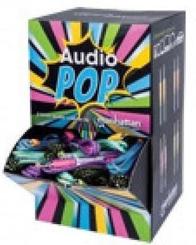 Manhattan AudioPOP Thekendisplay - Audio-Kabelkit - 28 AWG - Stereo 3,5 mm (M) - Stereo 3,5 mm (M) - 1,0m - 60 Stk.