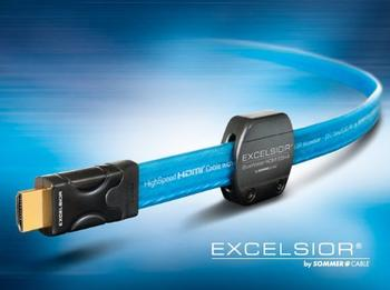 Sommer Cable EXCELSIOR BlueWater® HIGH END HDMI KABEL 0,75m