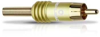 Oehlbach RCA COP-42 Cinch-Stecker verschiedene Farben - 4,2 mm gelb
