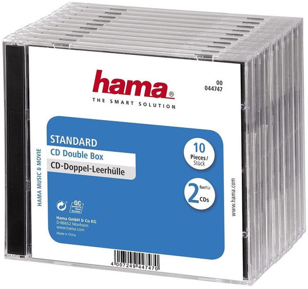 Hama CD-ROM Doppel 10er Pack
