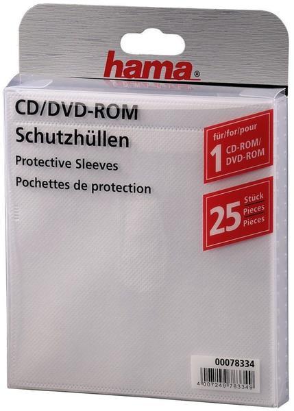 Hama CD/DVD-Leerhüllen (78334)