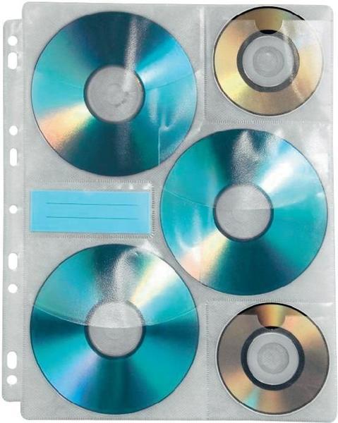 Hama 49835 (CD-ROM Index Hüllen)