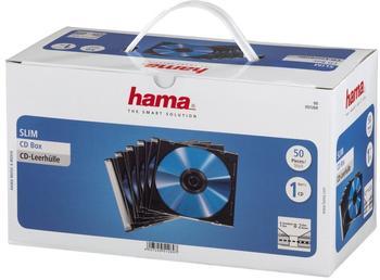 Hama 51269 CD-Leerhülle SlimLine 50er Pack