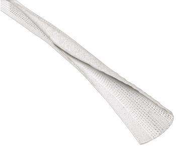 Hama Kabelbündel-Gewebeschlauch-Easy Flexwrap 1,8 m Weiß