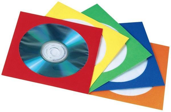 Hama Papierleerhüllen 100er-Pack farblich sortiert in Folie