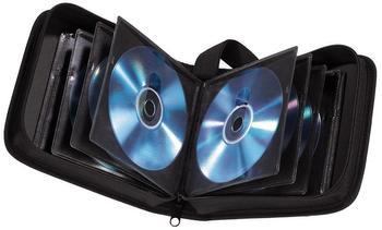 Hama 11615 CD-/DVD-Nylontasche 32 Schwarz