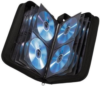 Hama 11617 CD-DVD-Nylontasche 104 Schwarz
