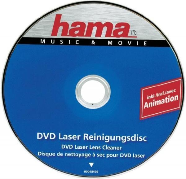 Hama 48496 DVD-Laser-Reinigungsdisk