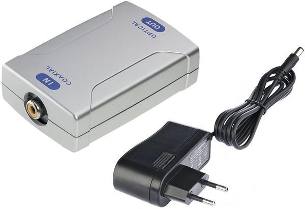 in-akustik 1040101 Premium Konverter Koax > Toslink