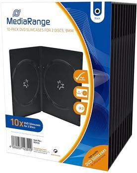 MediaRange BOX34 10er-Pack DVD-Hüllen Slim für 2 Discs 9mm
