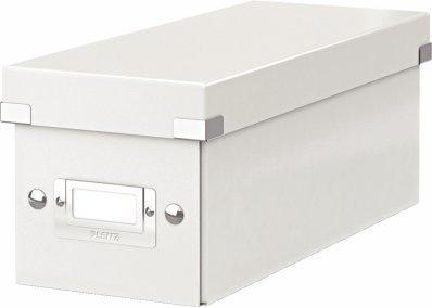 Leitz 60410001 Click & Store CD Ablagebox Weiß
