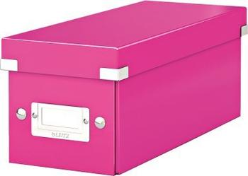 Leitz 60410023 Click & Store CD Ablagebox Pink Metallic