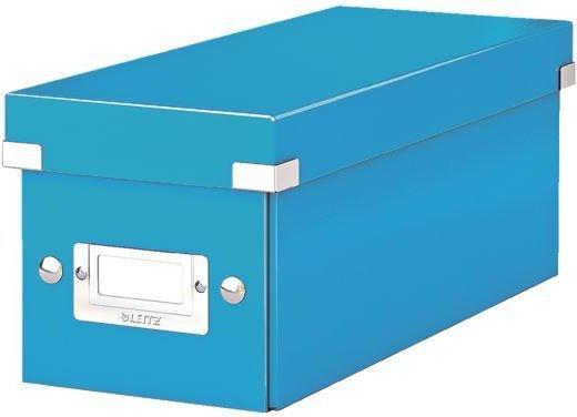 Leitz 60410036 Click & Store CD Ablagebox Blau Metallic