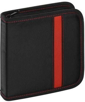 Vivanco 31787 CD/DVD Wallets schwarz für 24 CD's/DVD's