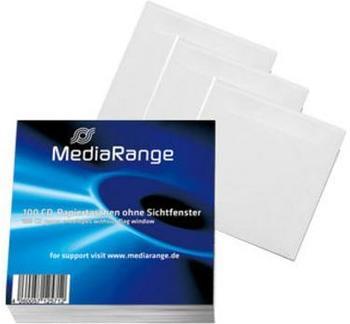 mediarange-box66-100er-pack-cd-papiertaschen-mit-lasche-ohne-sichtfenster