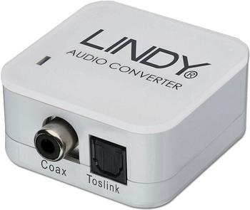 Lindy 70411 Audiokonverter Toslink Cinch (koaxial)