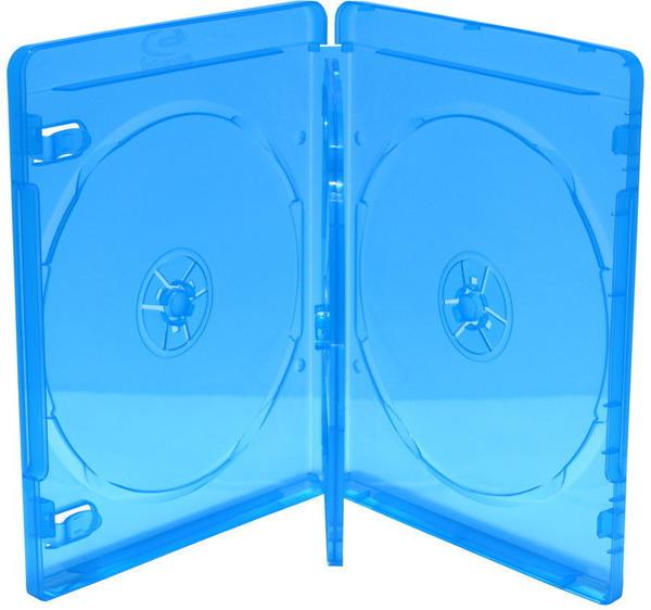 MediaRange BOX38-3-30 BD-Leerhülle für 3 Discs 14mm