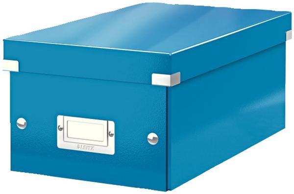 Leitz Click & Store DVD-Box 6042-00-36 blau metallic