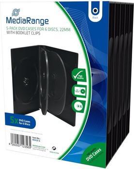 MediaRange BOX35-6 6er-Pack DVD-Hüllen