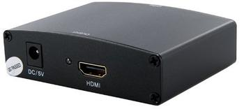 4World Konverter 4World VGA + R L Audio für HDMI