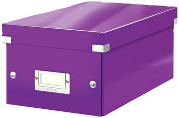Leitz Click & Store DVD-Box 6042-00-62 violett