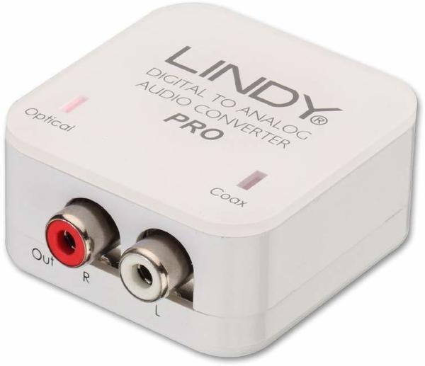 Lindy 70468 Audiokonverter Cinch (koaxial) Cinch (analog)