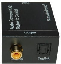 SunshineTronic Optisch-Koaxial Audio Konverter