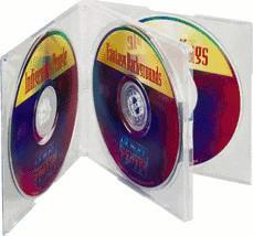 Hama 49830 CD-ROM Leerhüllen Slim-Pack 4, 5er-Pack