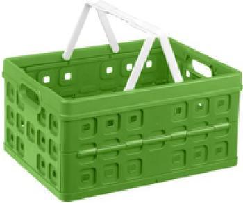 Sunware Square Klappbox 32L grün/weiß (57100661)