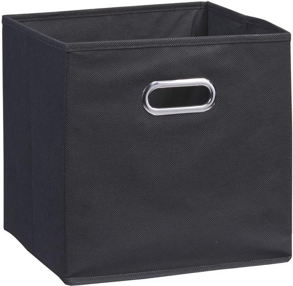 Zeller Aufbewahrungsbox Vlies schwarz (32 cm)