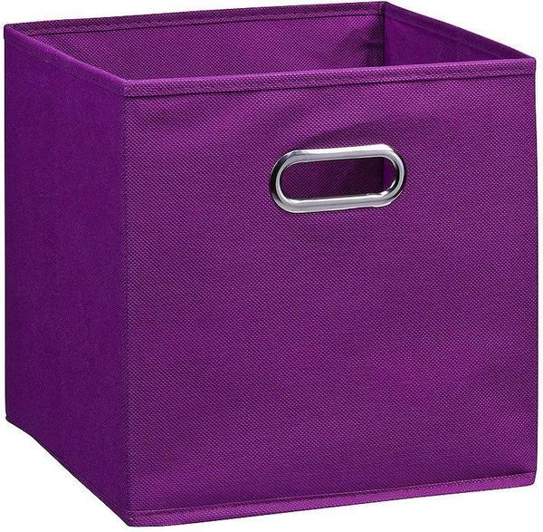 Zeller Aufbewahrungsbox Vlies lila (32 cm)