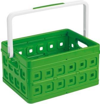 Sunware Square Klappbox 24L grün/weiß (57500606)
