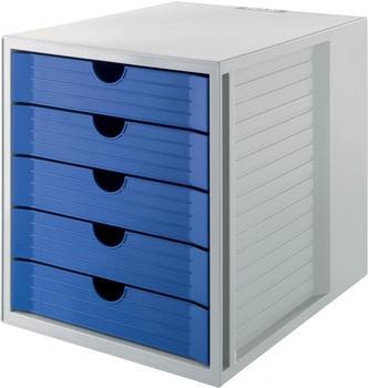 HAN Systembox KARMA 5 Schübe grau/grau (14508-18)