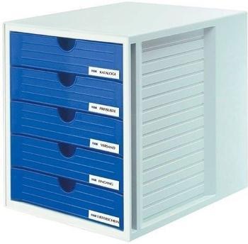 HAN SYSTEMBOX grau/blau (1450-14)