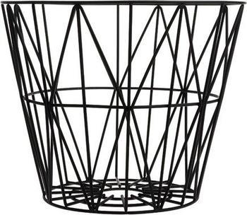 Ferm Living Wire Basket Medium schwarz