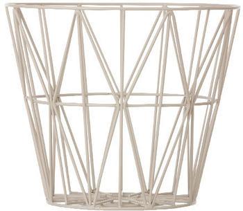 Ferm Living Wire Basket Medium grau