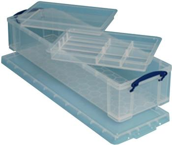Really Useful Products Kunststoffbox 22 l transparent