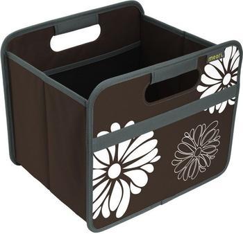 meori Faltbox Classic Small Kakao Brau/Blumen (A100032)