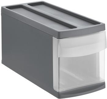Rotho Schubladenbox Systemix S anthrazit