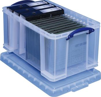 Really Useful Products Box 48 Liter transparent