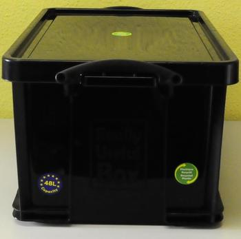 Really Useful Products Box 48 Liter schwarz