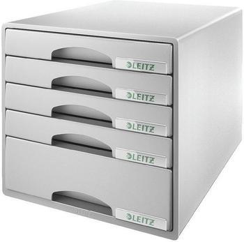 Leitz Big-Box Plus mit 5 Schüben grau